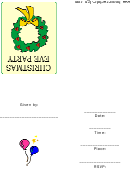 Christmas Eve Party Template
