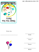 Under The Sea Party Template