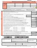 Form 2ez - Montana Individual Income Tax Return - 2008