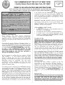 Form Tc108 - Application For Correction Of Assessed Value For One, Two Or Three-family House Or Other Class One Property Only - 2011