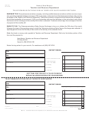 Form Rpd-41116 - Telecommunications Relay Service Surcharge Return