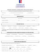 Enrollment Certification Request