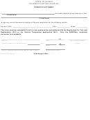 Form 847 - Power Of Attorney - Alaska Division Of Motor Vehicles