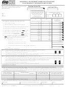 Form De 938 - Quarterly Adjustment Form For Voluntary Plan Disability Insurance Employers - 2011