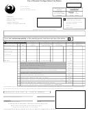 City Of Phoenix Privilege (sales) Tax Return Form - 2002