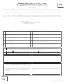 Form 775 - Request For Informal Conference - 2011