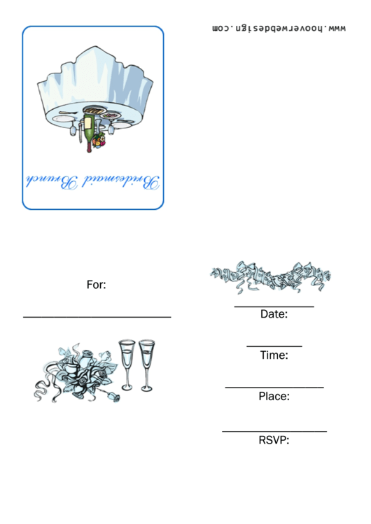 Bridesmaid Brunch Invitation Template Printable pdf