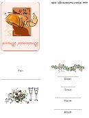 Bridesmaid Brunch Invitation Template