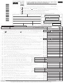 Form Nyc-202 - Unincorporated Business Tax Return For Individuals, Estates And Trusts - 2009