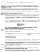 Instructions For Form Sfn 13002 - Articles Of Incorporation - 2013