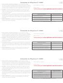 Form F-1120es - Information For Filing - 2008