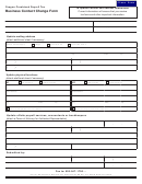 Business Contact Change Form - Oregon Combined Payroll Tax