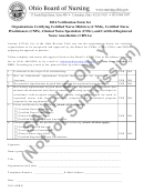 Form Aprn - Certifying Org Verif Form - 2016