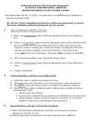 Guidance For Preparing Asbestos Demolition/renovation Notifications - Indiana Department Of Environmental Management