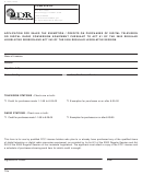 Form Dce-ap - Application For Sales Tax Exemption / Credits On Purchases Of Digital Television Or Digital Radio Conversion Equipment Pursuant To Act 61 Of The 2002 Regular Legislative Session And Act 243 Of The 2005 Regular Legislative Session