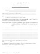 Smmusd Form: Complaint Against An Employee