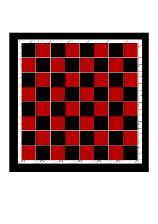 checkerboard template printable pdf download