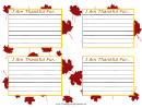 Thankfulness Cards