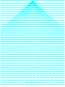 Perspective Graph Paper - Center Lines