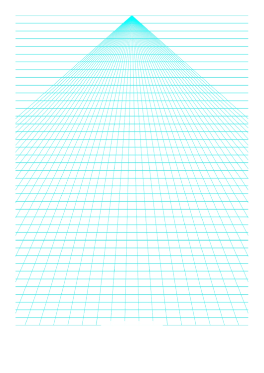 Perspective Graph Paper - Center Lines Printable pdf