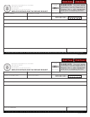 Form 4854 - Employer Withholding Tax Refund Request - Missouri Department Of Revenue