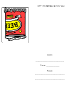 Redneck Beer Party Invitation Template