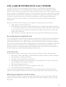 Form 591 - Liquefied Petroleum Gas (lpg) Vendor Tax Return
