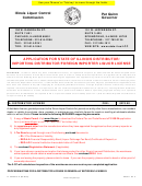 Form Il 567-0015-a - Application For State Of Illinois Distributor/ Importing Distributor/foreign Importer Liquor License