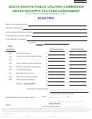 Gross Receipts Tax Fund Assessment - South Dakota Public Utilities Commission - 2010