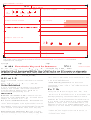 Form W-3ss - Transmittal Of Wage And Tax Statements - 2006