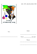 Dog Birthday Party Invitations Template