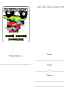 Monster Truck Show Invitations Template