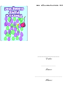 Theres A Party Going On Invitation Template