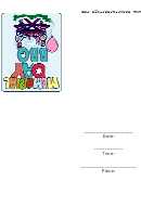Memorial Day Bbq Party Invitation Template