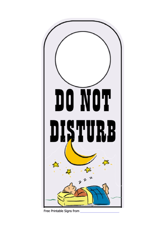 do not disturb sign template printable pdf download