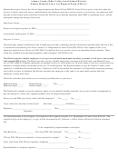 Adams County/ohio Valley Local School District Family Medical Leave Act Request Form (fmla)