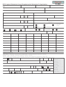 Form Tc-852 - Irp Original (schedule A) And Supplemental (schedule C) Application (2009)