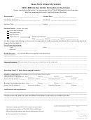 Affirmative Action Recruitment Summary Form