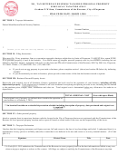 Tax Return Of Business Tangible Personal Property For Local Taxation Only Form
