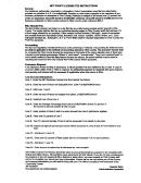 Net Profit License Fee Instruction