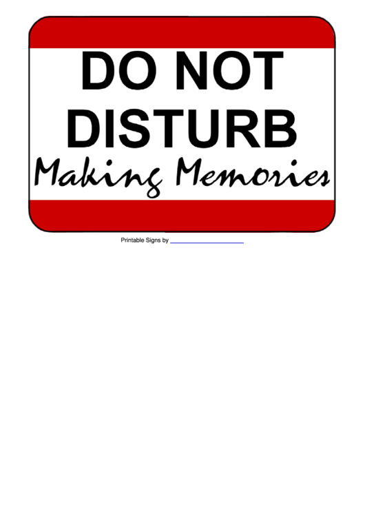 top 7 do not disturb sign templates free to download in pdf format
