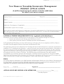 Stormwater Management Permit Application - 2007