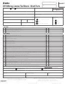 Form 662sf - 2010 Mining License Tax Return - Short Form