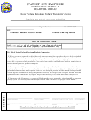 Form Rt113 - Motor Fuel And Petroleum Products Transporter's Report