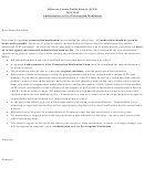 Authorization To Give Prescription Medication Form - Jefferson County Public Schools - 2012-2013