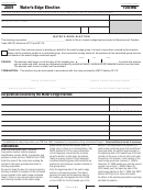 California Form 100-we - Water's-edge Election - 2009