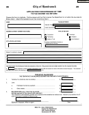 Application For Extension Of Time To File Income Tax Return Form