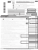 Form Nyc-202 - Unincorporated Business Tax Return For Individuals, Estates And Trusts - 2008