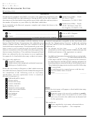Form Re 665 - Master Geographic Letter Form - California Bureau Of Real Estate