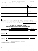 Form 872-t - Notice Of Termination Of Special Consent To Extend The Time To Assess Tax